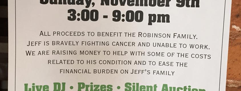 J Robinson Benefit