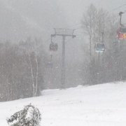 Killington Gondola Snow Storm