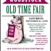 2nd Annual Woodstock Old Time Fair